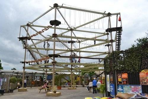 In 2012 Innovative Leisure Broke Into The Flourishing Garden Centre Sector  With The Installation Of Its First Sky Trail High Ropes Course At Planters  Garden ...