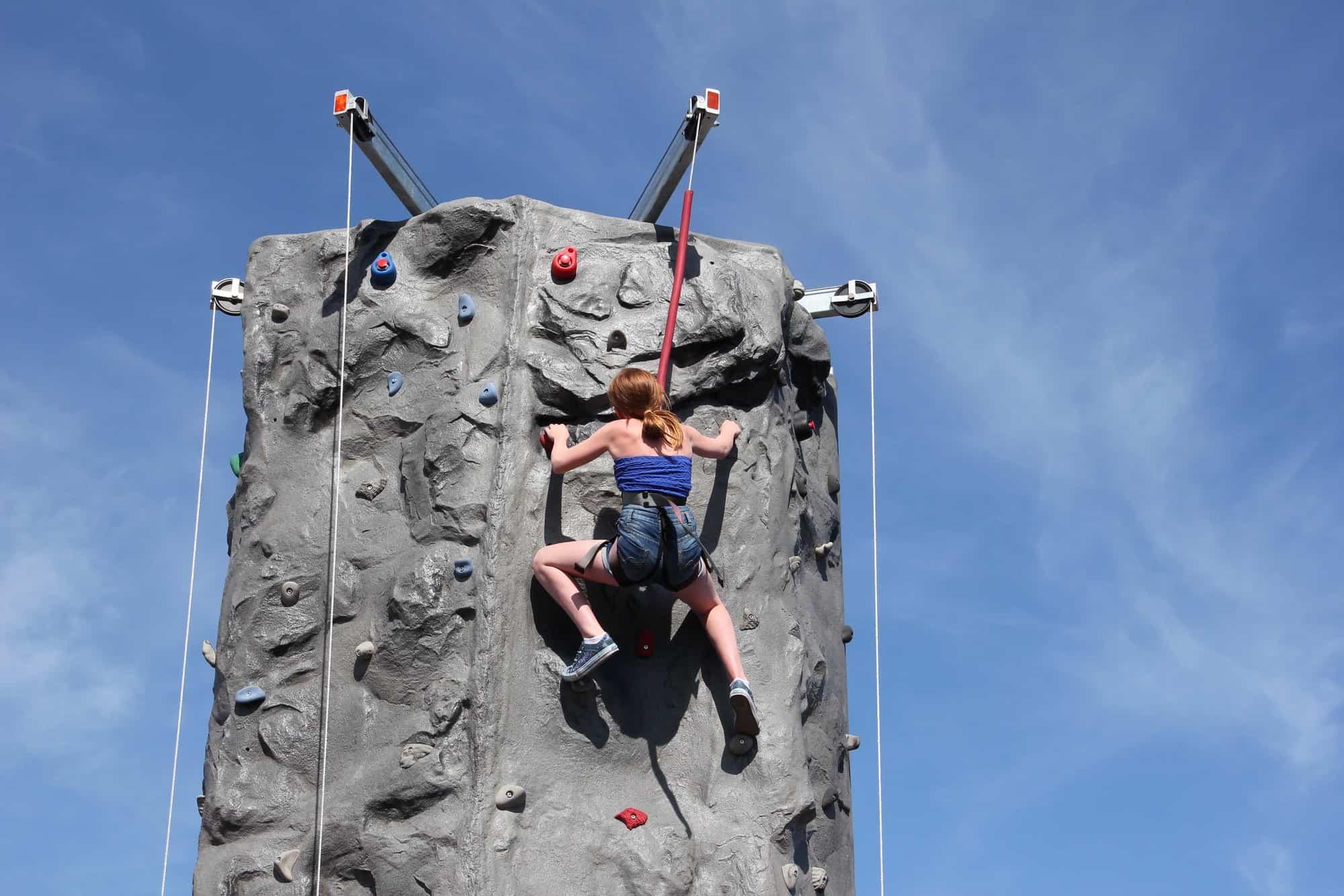 Innovative Leisure Climbing Mobile Climbing Walls