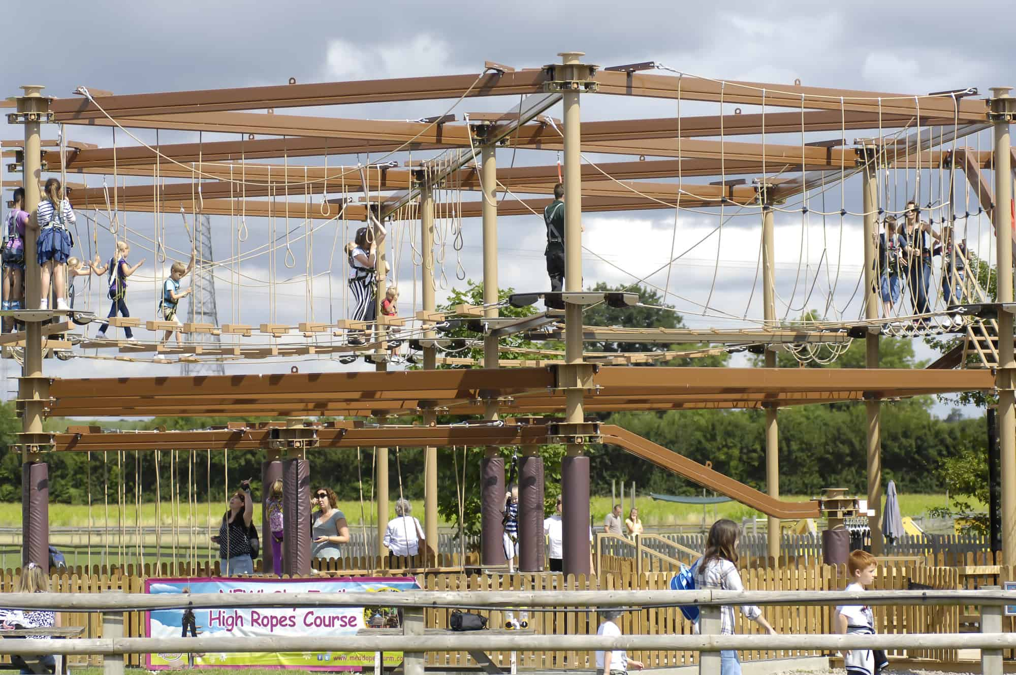 Sky Trail 174 Discovery High Ropes Course Innovative Leisure