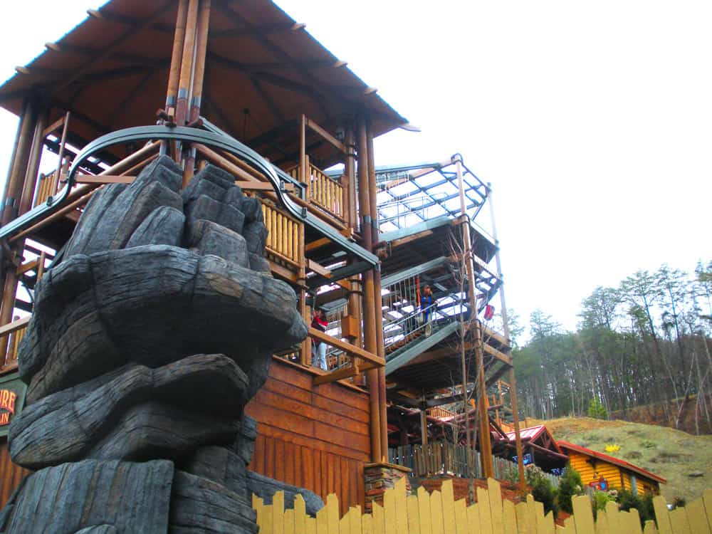 Options Sky Trail High Ropes Course Innovative Leisure