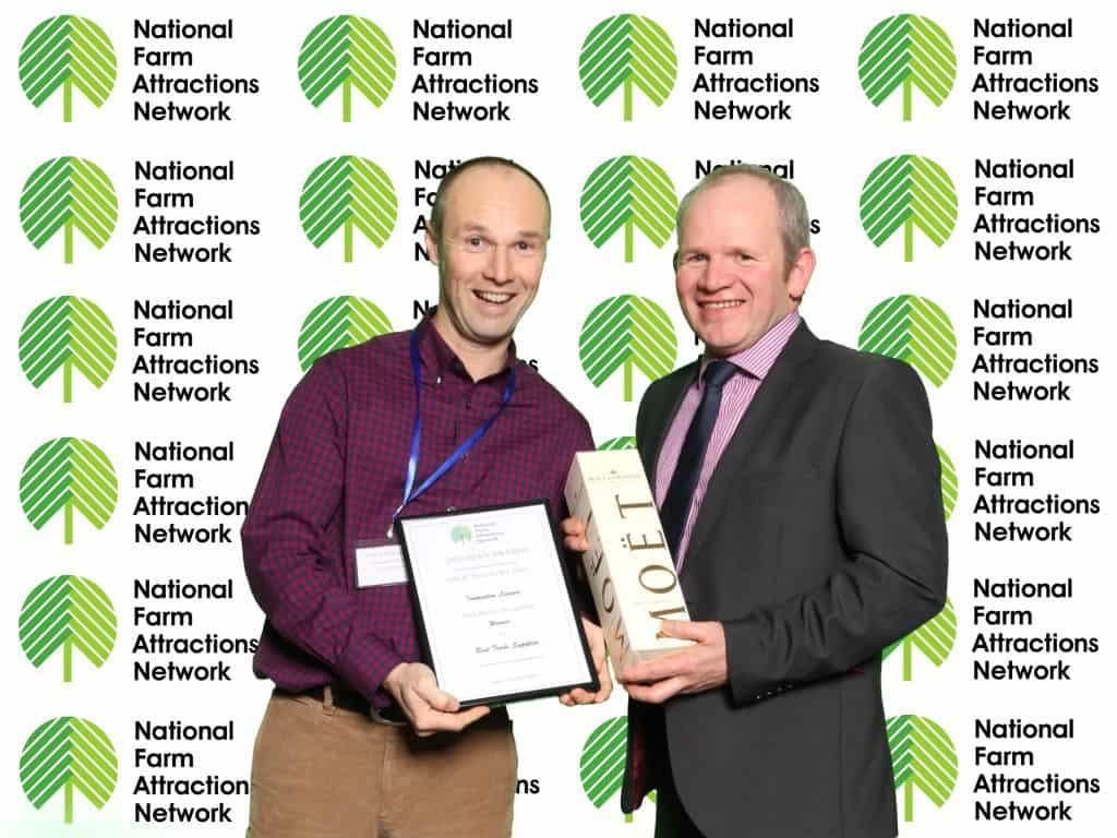 NFAN 2016 Best Trade Supplier winner Innovative Leisure