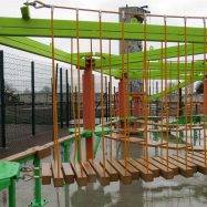 Sky Tykes junior ropes course for holiday parks