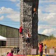 Mobile Climbing Walls at Red House Farm