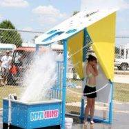 Stationary Water Wars with Depth Charge