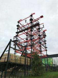 Sky Trail at the Bear Grylls Adventure