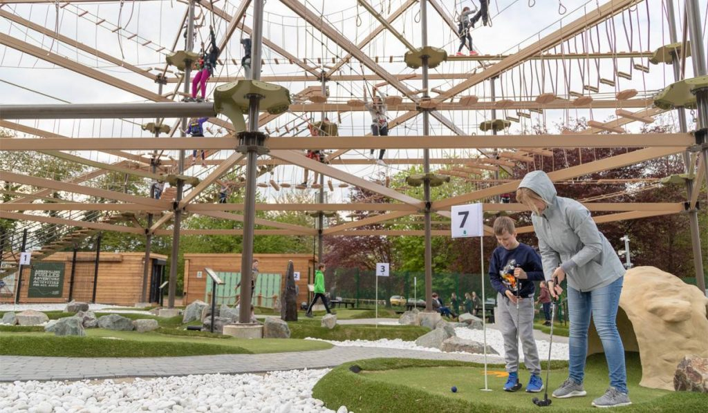 Golf and Sky Trail at Mote Park Adventure Zone